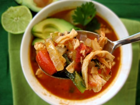 #paleo chicken tortilla soup