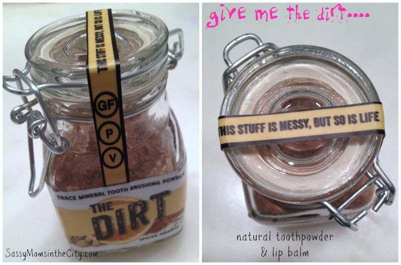 the dirt natural toothpowder
