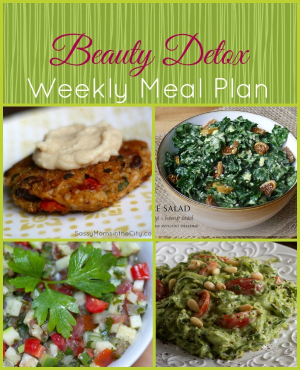 beauty detox weekly meal plan