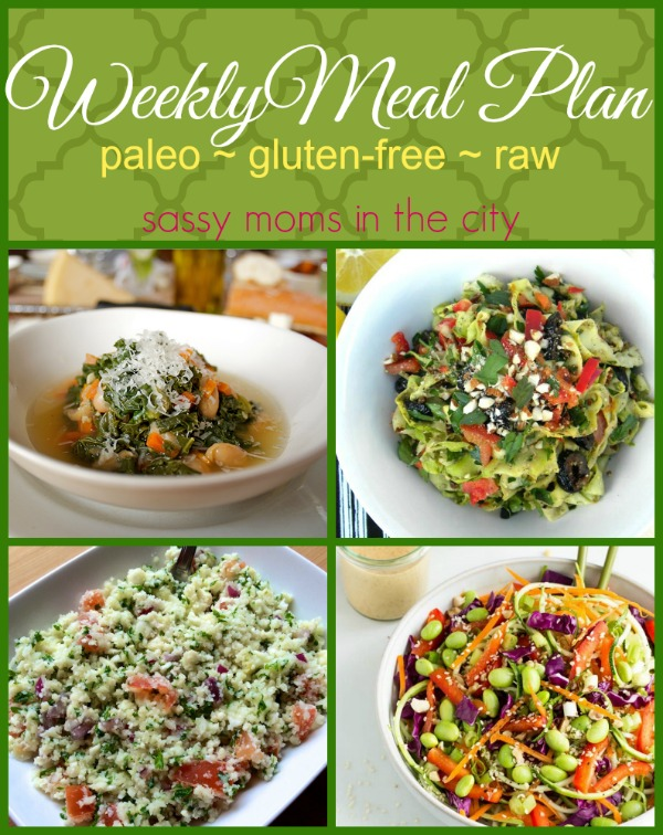 weekly meal plan gluten-free raw paleo
