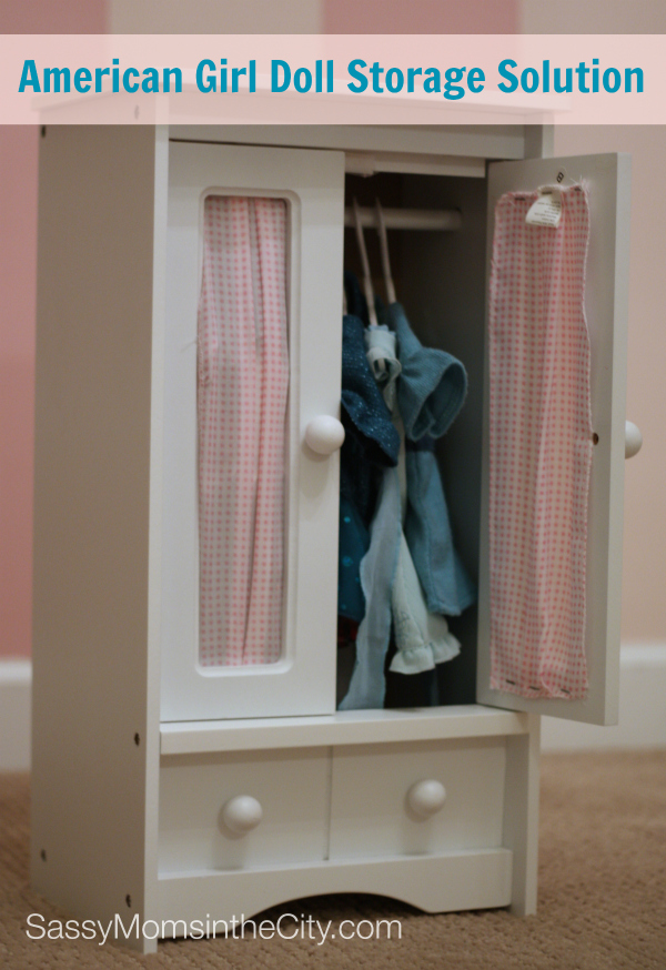 American Doll Storage Solution