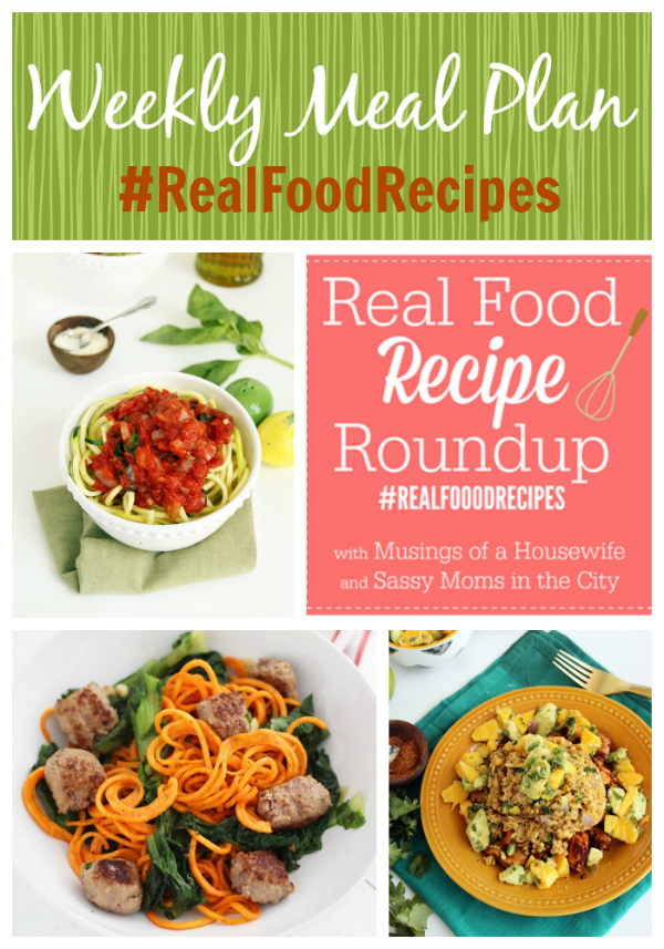 real food recipes may 25th