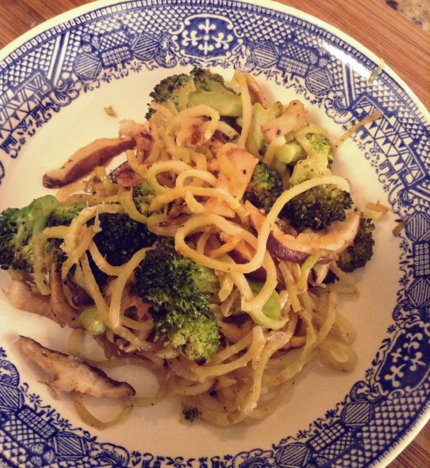 how to spiralize broccoli