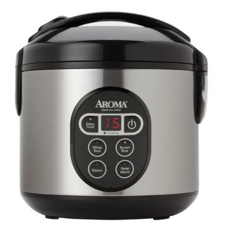 Aroma Digital Rice Cooker and Food Steamers