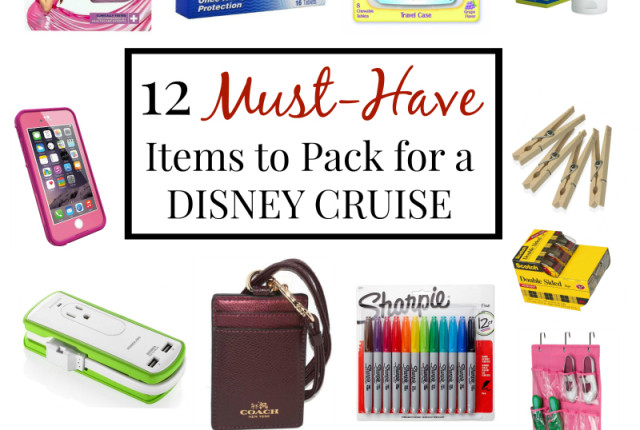 12 Things to Pack for a Disney Cruise