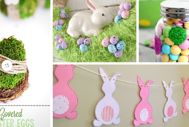 33 DIY Easter Decorations
