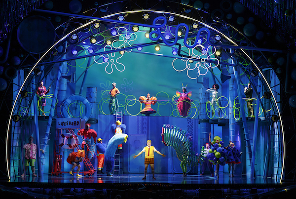 SpongeBob Musical Review Oriental Theatre Chicago