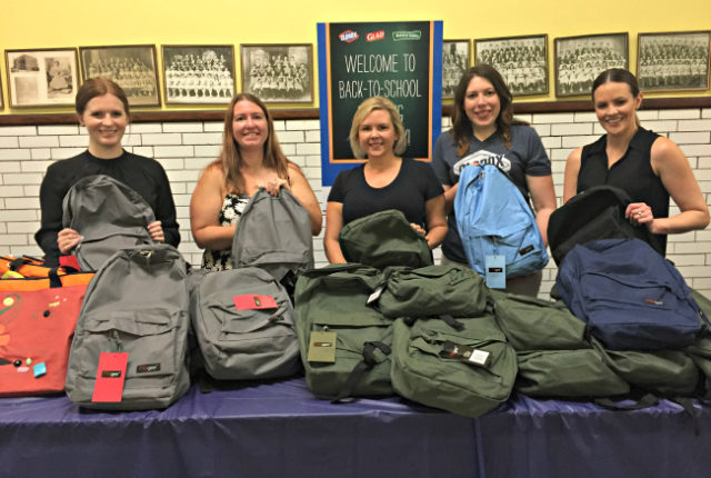 Clorox was in Chicago last week hosting a back to school supply pop-up shop at Douglas Taylor Elementary School.