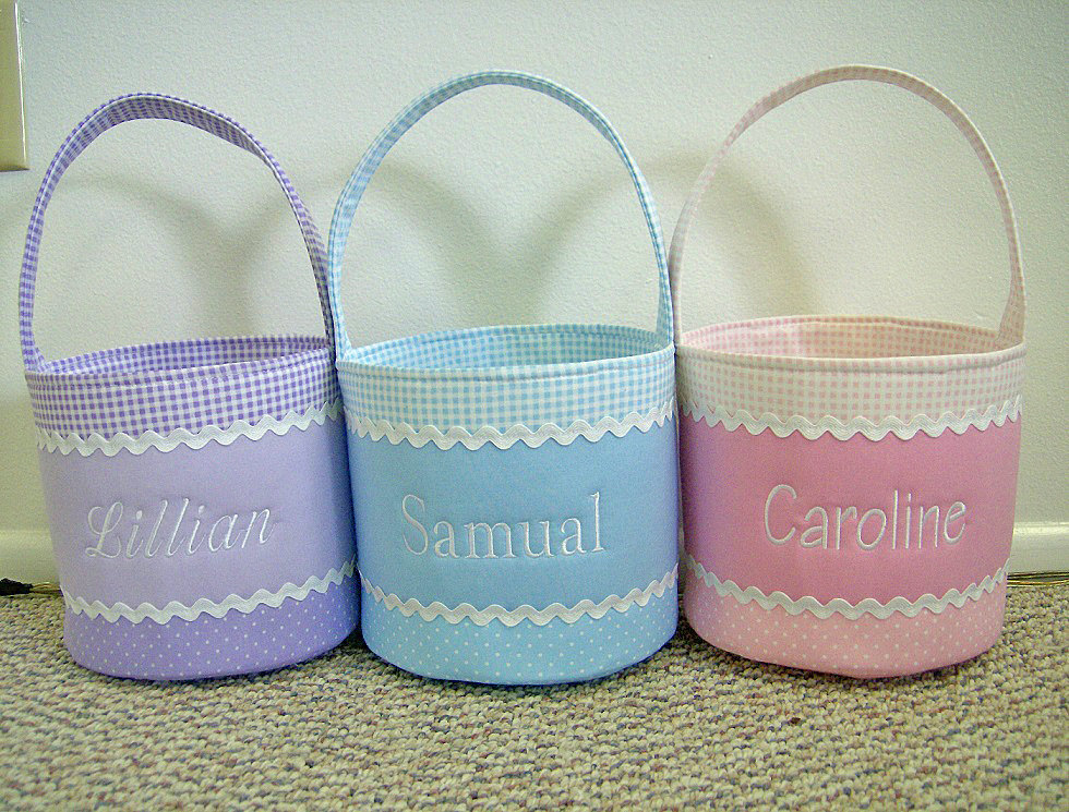 Chic easter baskets from etsy pottery barn kids negle Images