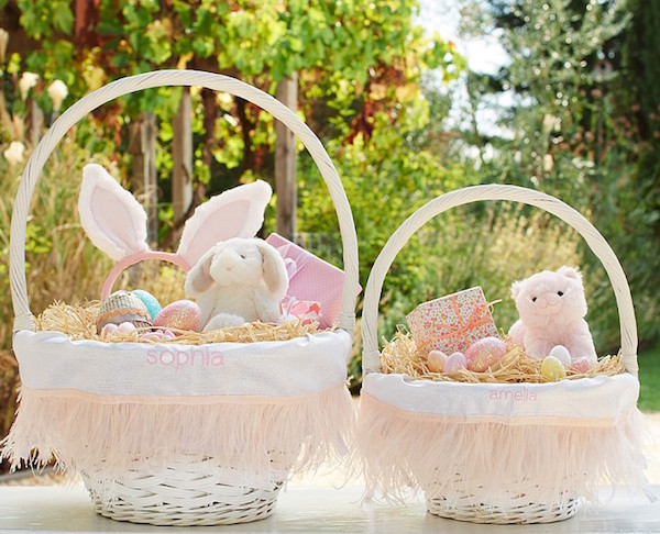 Chic easter baskets from etsy pottery barn kids if youre interested in starting your own traditions and finding chic easter baskets for negle Choice Image