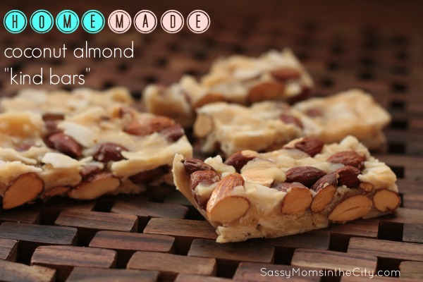 coconut almond kind bars recipe
