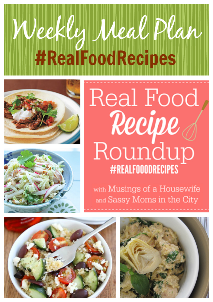 real food recipes april 27th