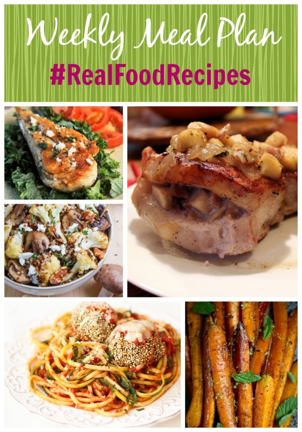 weekly meal plan september 7 real food recipes