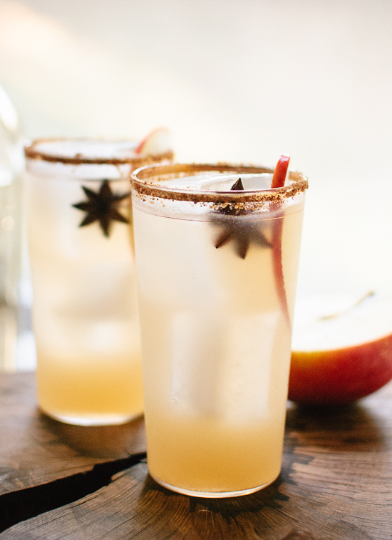 Spiced Apple Margaritas 20 winter drinks and cocktails