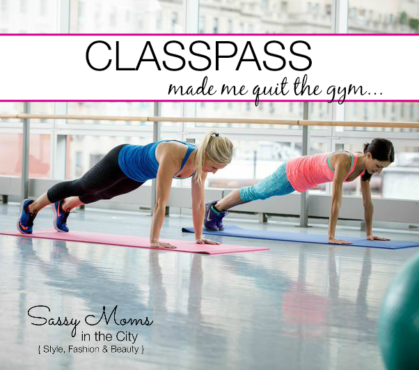 Using  Fitness Classes Classpass