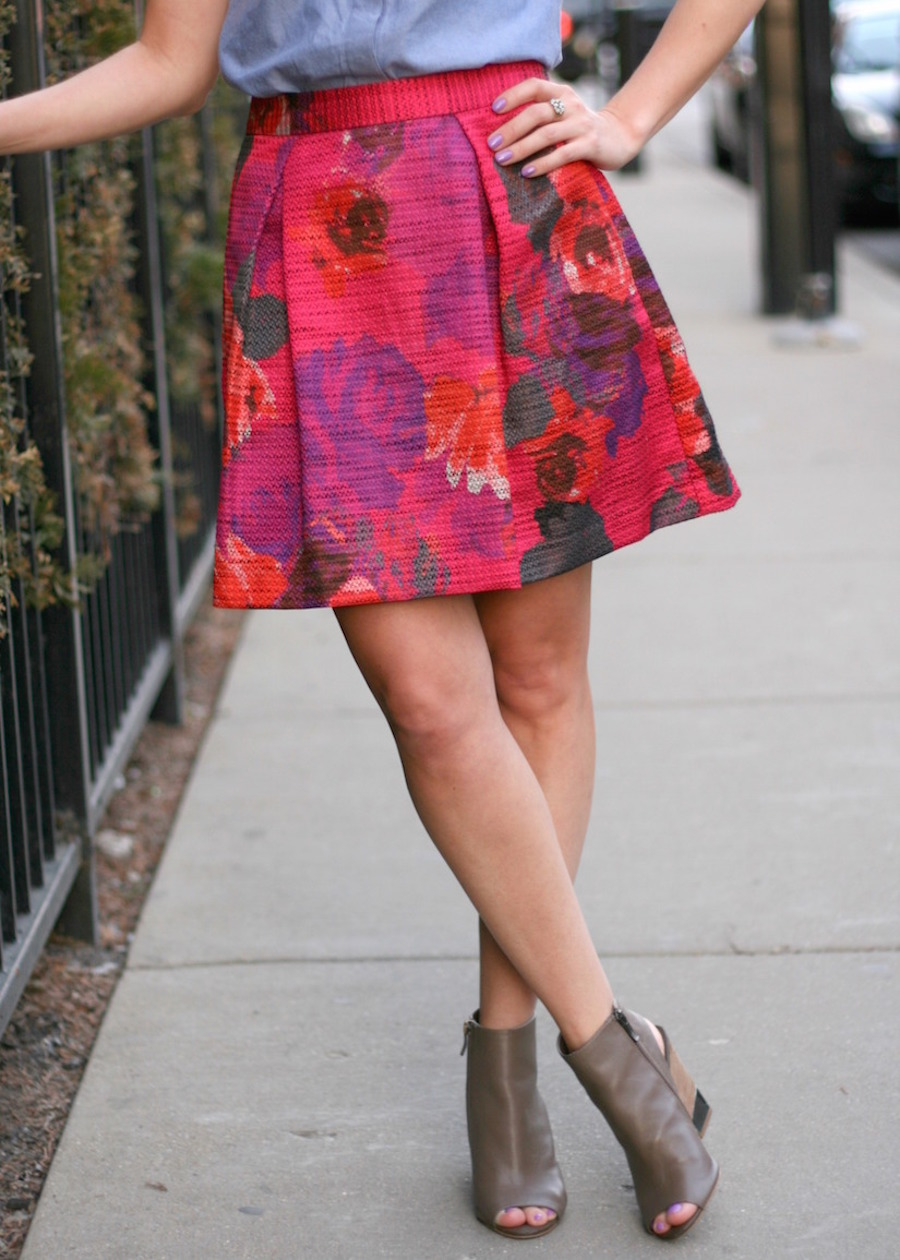 So Chic Life - Fashion Friday skirt 2