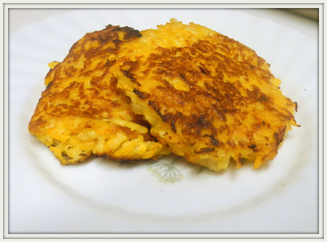 butternut squash apple latkes