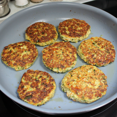 Cauliflower-Quinoa-Patties