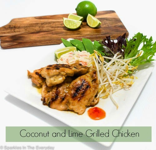 Coconut and Lime Grilled Chicken