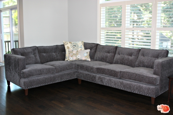 arhaus flanders sectional sofa