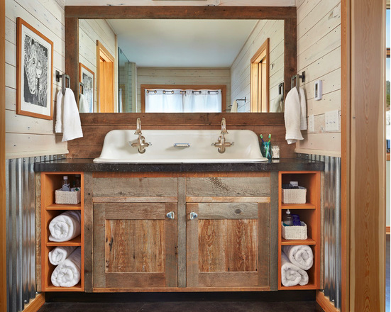 Contemporary-Bathroom-rustic-bathroom