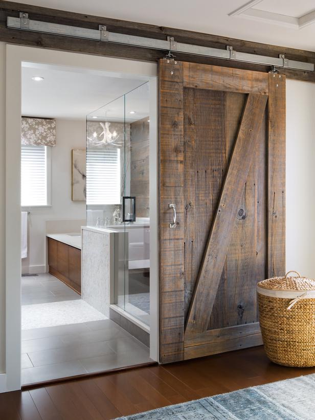 interior-sliding-barn-doors-for-homes-plus-glass-door-for-shower-stall-also-shower-stall-in-bathrooms-then-wood-floor-interior-and-sliding-door-for-bathrooms-with-barn-wood-base-for-slide-door-970x1294
