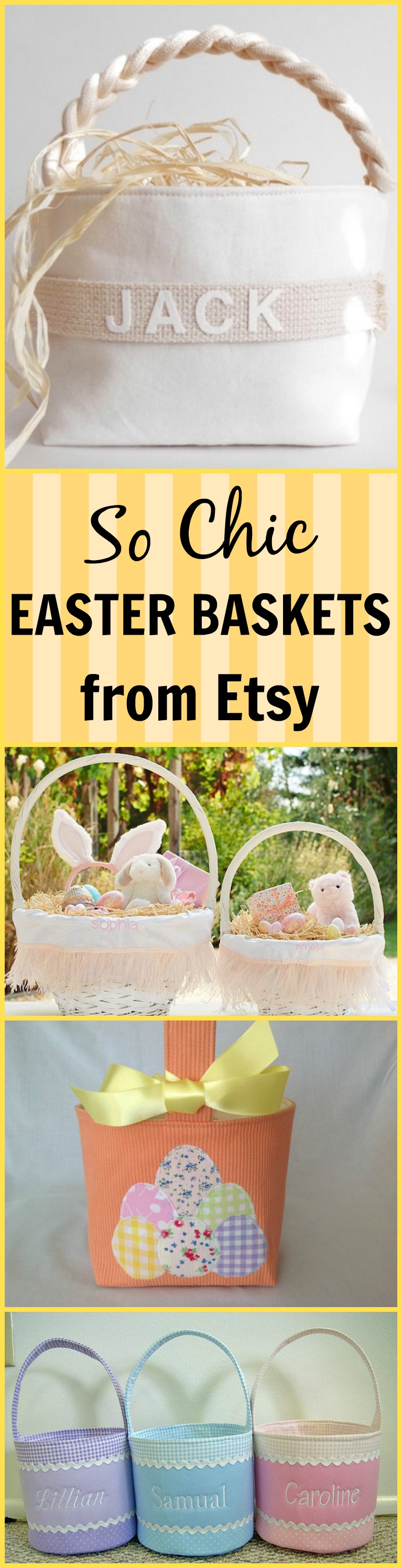 Chic Easter Baskets