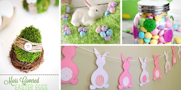 33 pretty diy easter decoration ideas so chic life for Diy easter decorations home