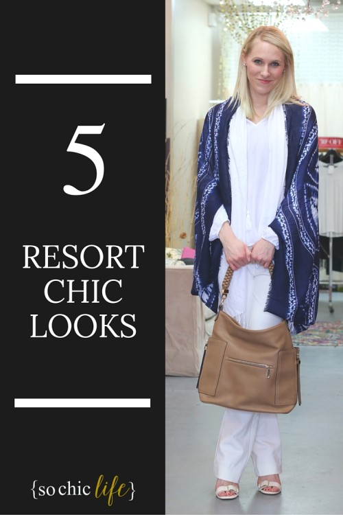 During a recent shopping trip to my favorite boutique Ella Louvi, I scored several resort chic looks to rock my vacation.