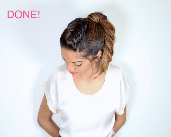 Tutorial for fishtail ponytail