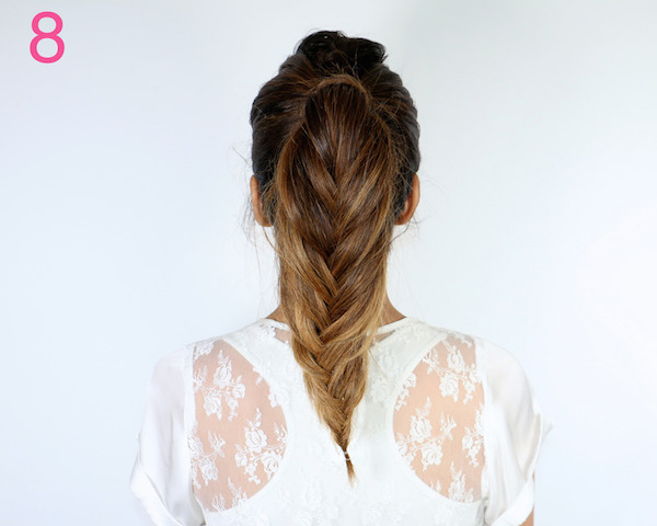 fishtail pony tutorail