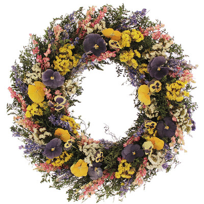 Mother's Day Gifts Pansy Treasures Wreath Wayfair